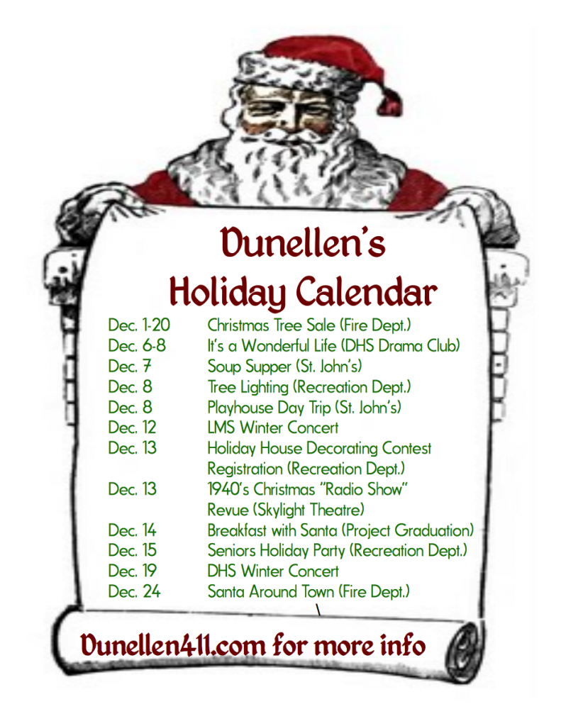 what is going on in dunellen, nj december 2013
