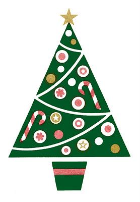christmas tree graphic