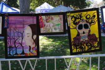 Winners in the Dunellen High School category. 2014 Dunellen HarvestFest