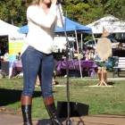 Tayla Grace performs at the 2014 Dunellen HarvestFest.