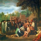 The Treaty of Penn with the Indians by Benjamin West.